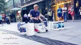 getlinkyoutube.com-Best street drummer ever in world compilation 2015