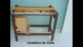 getlinkyoutube.com-Lixadeira de Cinta.wmv (Belt Sander Homemade)