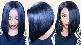 getlinkyoutube.com-How to Cut a Flawless BOB ft. BestLaceWigs Hair Extensions