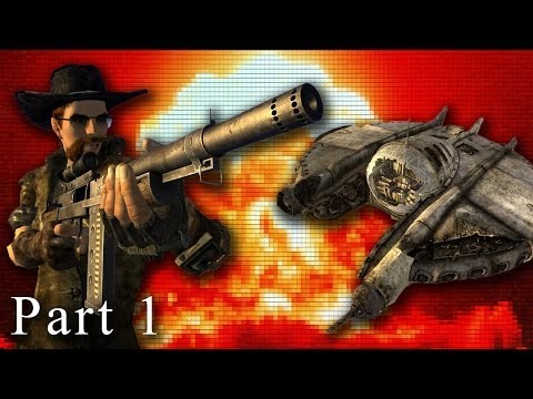 Fallout New Vegas Mods: Meth Cooking Alien Hunter - Part 1