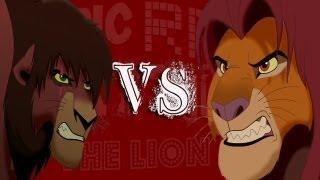 getlinkyoutube.com-Kovu vs Simba - Epic Rap Battles of the Lion King #1