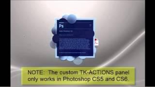 getlinkyoutube.com-TK-ACTIONS  A custom Photoshop panel