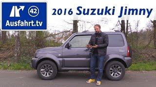 getlinkyoutube.com-2016 Suzuki Jimny Ranger - Fahrbericht der Probefahrt, Test, Review Ausfahrt.tv