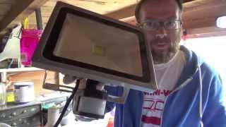 getlinkyoutube.com-Review & How to Install eBay 30w LED Floodlight UK