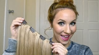 getlinkyoutube.com-DIY/ How To: Make Your Own Clip In Hair Extensions