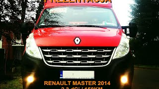 Prezentacja: Renault Master 2014 + Wejkama Heavy Truck
