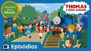getlinkyoutube.com-Thomas e Seus Amigos: Dia das Crianças