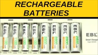 getlinkyoutube.com-Recommended Chargers, Affordable Batteries (Prepping, Flashlights) AAA/AA/C/D