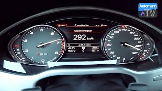 getlinkyoutube.com-2017 Audi S8 plus (605hp) - 0-300 km/h acceleration (60FPS)