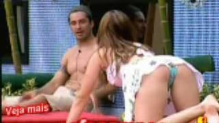 getlinkyoutube.com-Flagra bbb9 - Michelle bbb9 - videos big brother brasil