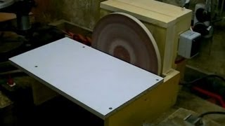 getlinkyoutube.com-Building a Disc Sander (cheap and simple)