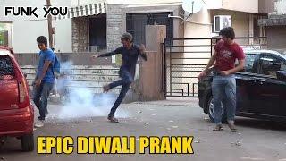 getlinkyoutube.com-Best Diwali/Firecracker Prank Ever! Funk You (Prank in India)