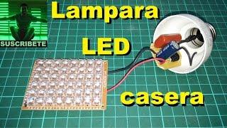 getlinkyoutube.com-Lampara led casera con fuente capacitiva, para TPAI