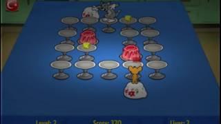getlinkyoutube.com-Jocuri cu Tom si Jerry in lupta pentru mancare pentru copii gratis - Food Fight