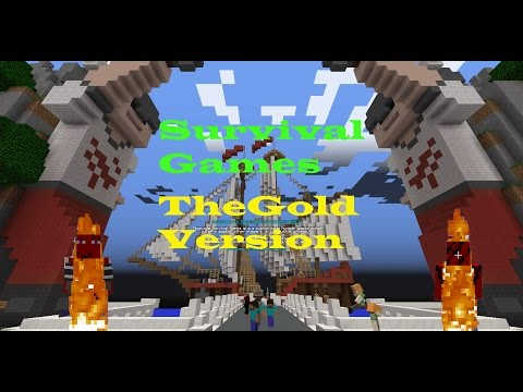 TheGoldGamer - Survival Games - Episode 1 - There's Wankers Everywhere