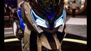 getlinkyoutube.com-2016 NEW SYM MAXSYM 500 CONCEPT in EICMA 2015