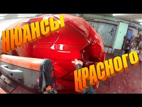 Dodge Caliber серия 22. Покраска. Body repair.