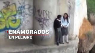 getlinkyoutube.com-Río pone en peligro a enamorados en Oaxaca   Noticias de Oaxaca