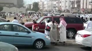 getlinkyoutube.com-سقوط الطالبات في حريق جدة مدرسة براعم الوطن جديد