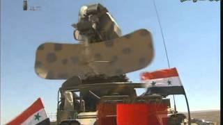getlinkyoutube.com-مناورات الدفاع الجوي السوري | Syrian air defense exercise