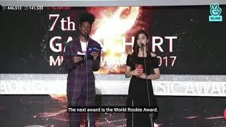[ENG SUB] BLACKPINK - 7th Gaon Chart Awards 'World KPOP Rookie'