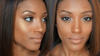 getlinkyoutube.com-Strobing- The Anti-Contouring Way to Define Your Face