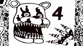 getlinkyoutube.com-Como dibujar a five nights at freddy's 4 | how to draw five nights at freddy's 4