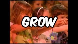 Grow - Hi-5 - Season 1 Song of the Week