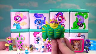 getlinkyoutube.com-My Little Pony Power Ponies Full Case in Toy Surprise Blind Boxes | Fizzy Toy Show