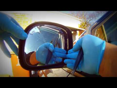 How to remove a chrysler Voyager side mirror снять боковое зеркало chrysler Voyager