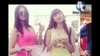 getlinkyoutube.com-Gubaidullina Tatyana vs Sabina Altynbekova - Cantik Mana..??