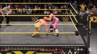 getlinkyoutube.com-WWE 2K16 NXT Asuka vs Bayley Semi Round