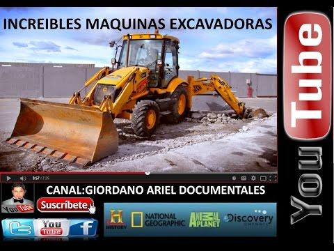LOCO POR LAS MAQUINAS EXCAVADORAS,ALUCINANTE