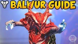 "getlinkyoutube.com-Destiny: HOW TO KILL BALWUR! Court of Oryx Tier 3 Boss ""Balwur"" Tutorial (Calcified Fragment Reward)"