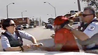 getlinkyoutube.com-Police Video Of Female Cop Beaten By Suspect She Feared Shooting