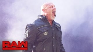 getlinkyoutube.com-Goldberg emerges in WWE for the first time in 12 years: Raw, Oct. 17, 2016
