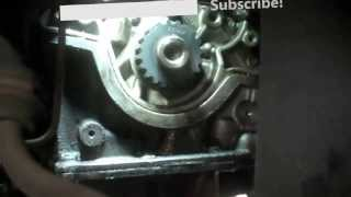 getlinkyoutube.com-Timing belt replacement Ford Focus 2002 2.0L Vin 3 DOHC PART 2 2000-2004 Install Remove Replace