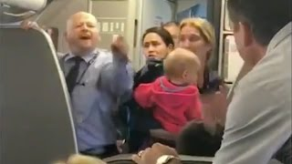 American Airlines employee allegedly hits woman with stroller, confronts angry passenger