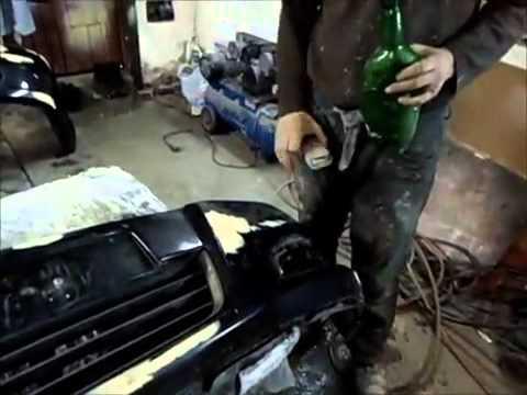 Косметический ремонт бампера