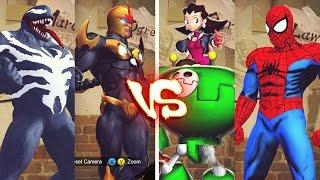 Streer Fighter X Tekken - Marvel vs Capcom Battle