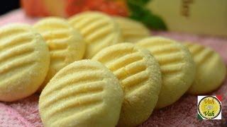 getlinkyoutube.com-Custard Cookies  - By Vahchef @ vahrehvah.com