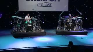 Larnell Lewis & Rashid Williams - Guitar Center's 28th Annual Drum-Off (Part 1)
