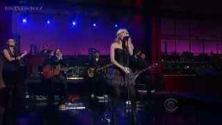 getlinkyoutube.com-Carrie Underwood / Good Girl (Live at David Letterman 4-30-12)