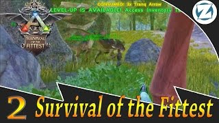 getlinkyoutube.com-Ark Survival Of The Fittest Gameplay w/ Draax and Sl1pg8r - Ep2 - Ambushed