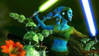 getlinkyoutube.com-Star Wars Battlefront 2 mods: Felucia - Battlefront Extreme BFX (Natural Map Pack ) Aayla Secura