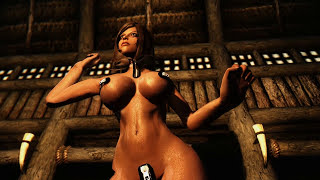 getlinkyoutube.com-Skyrim Mod Review 01 - A Very Conservative Outfit - Series: Boobs and Lubes