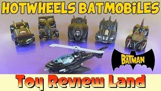 getlinkyoutube.com-6 Batman Hotwheels Batmobiles & Batcopter!