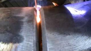 getlinkyoutube.com-Tig Welding Greeks root pass 6 intz