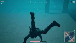 Best PUBG ending ever. Talking to the enemy while swimming