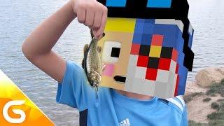 getlinkyoutube.com-1조원짜리 썩은 생선을 먹고난후 가이오가로 변한다고..?! [병맛 스토리모드 상황극 : 생선 모드] 마인크래프트 Minecraft [진호]